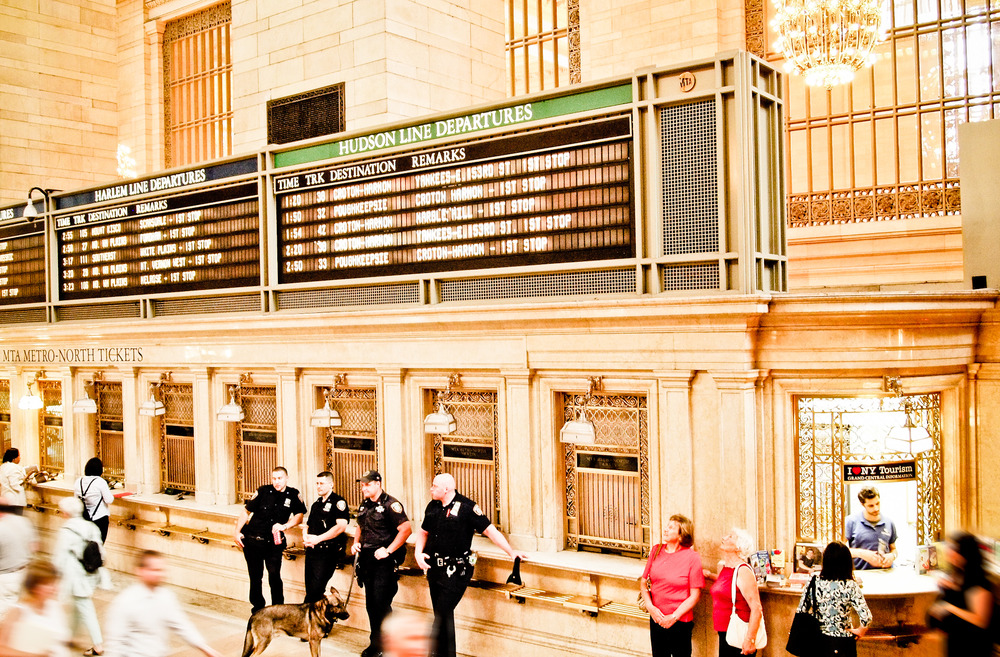 NYPD, Grand Central New York