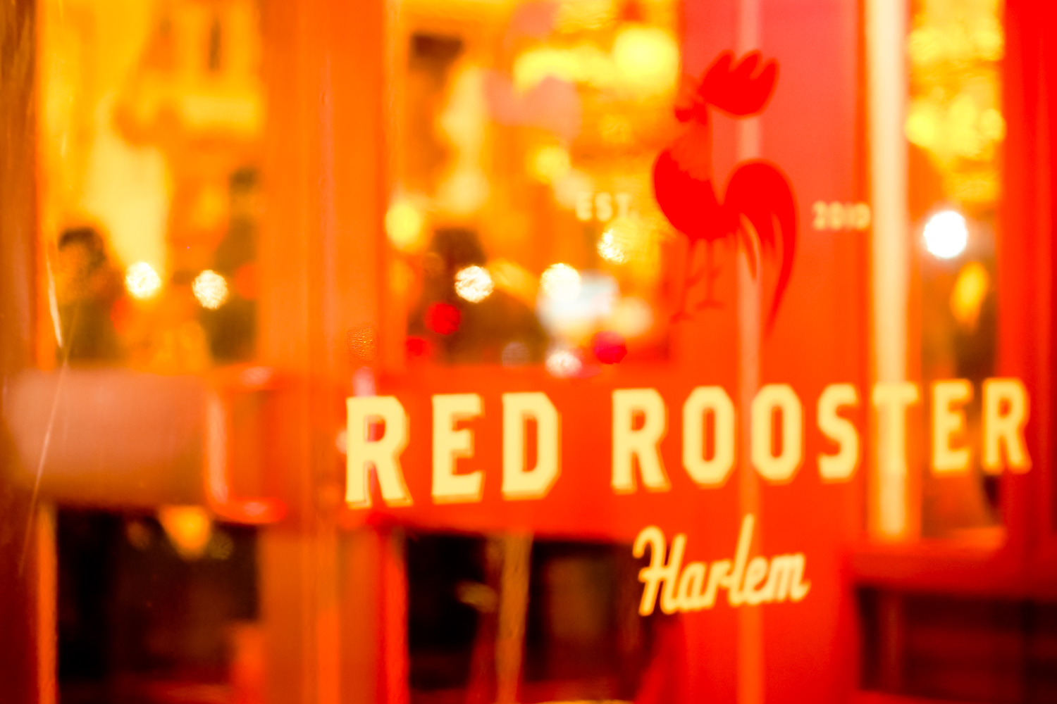 RED ROOSTER, HARLEM by Carine