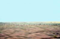 DESERT DE GOBI VU DU TRANSMONGOLIEN-Véronique