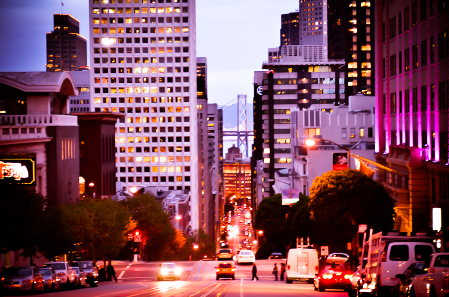 THE STREETS OF SAN FRANCISCO by Carine
