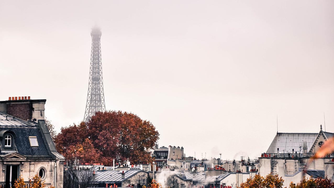 LES TOITS DE PARIS by Véronique
