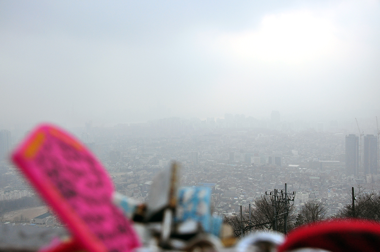 SEOUL TOWER, COREE by Véronique