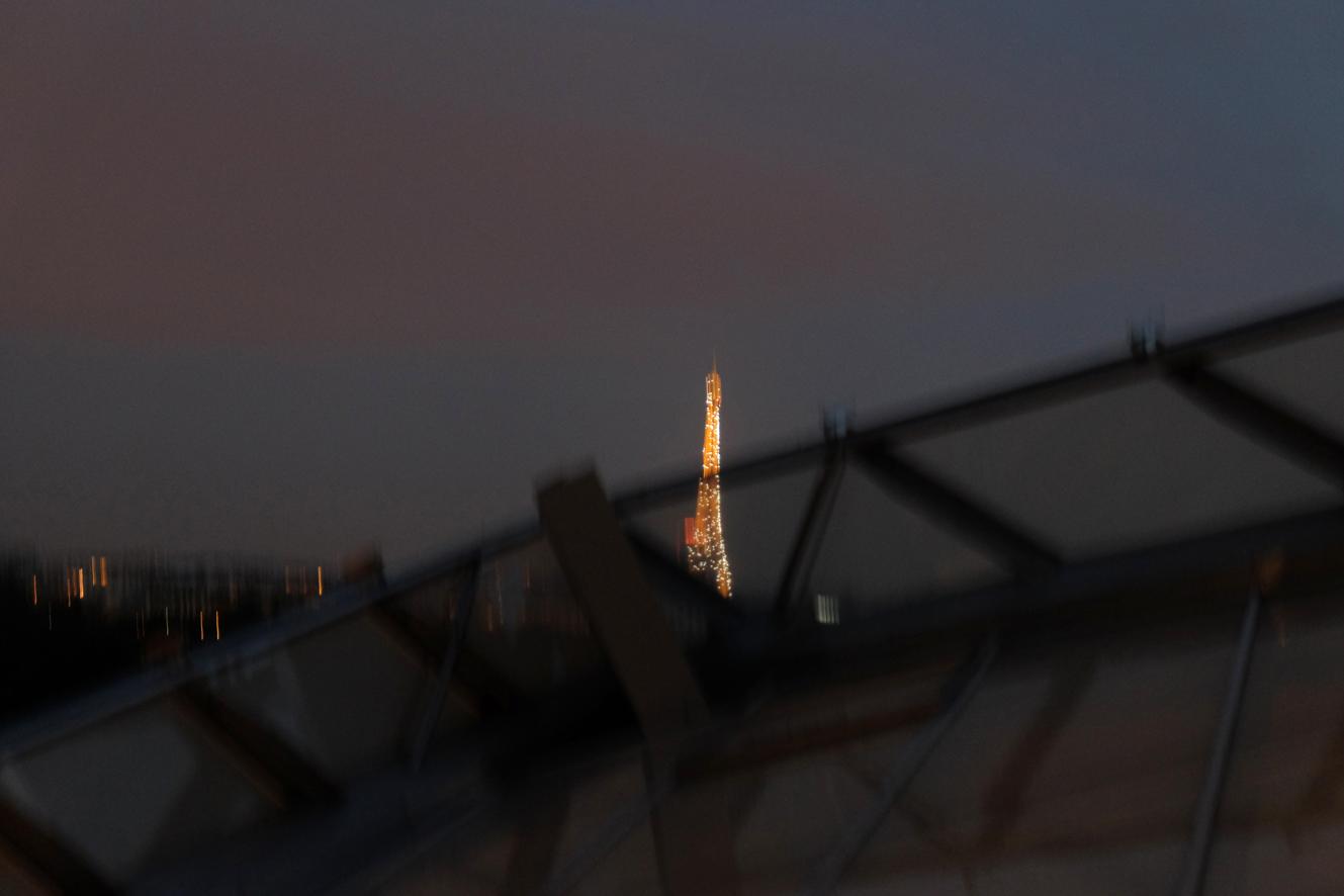 NUIT D'HIVER, PARIS by Véronique