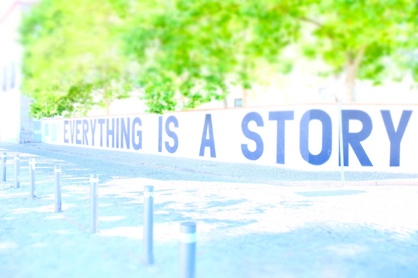 EVERYTHING IS A STORY by Carine
