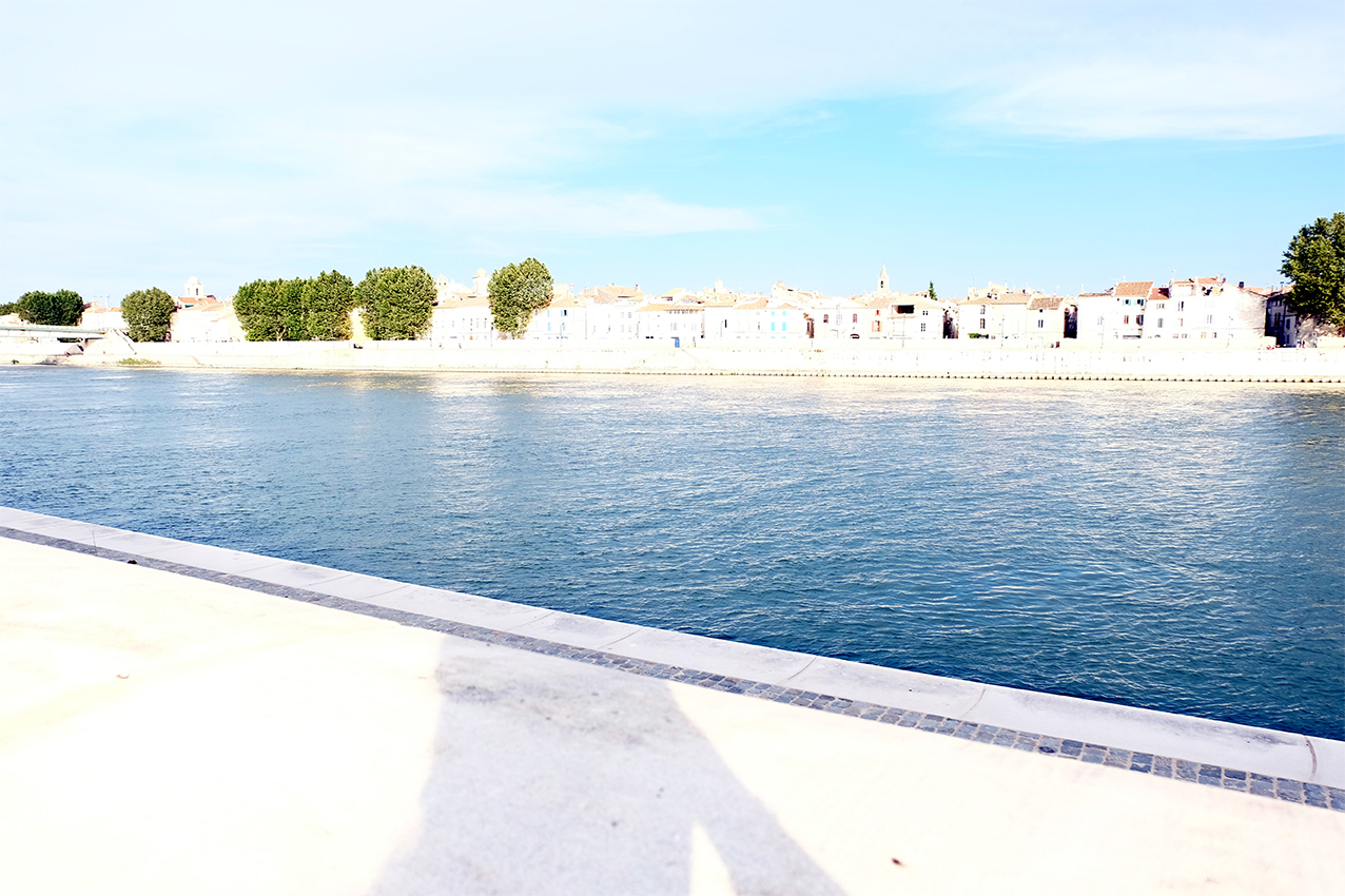 QUAIS DU RHONE, ARLES by Véronique