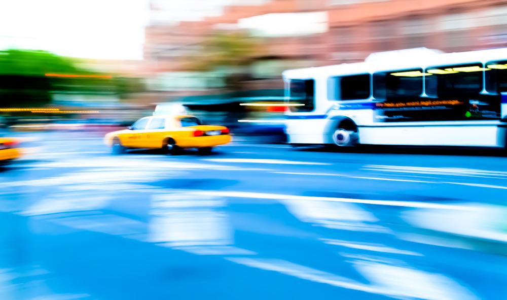 Jaune Taxi, New York
