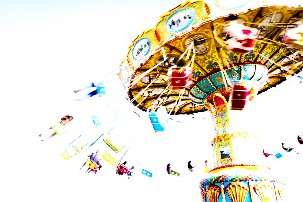 FLYING CAROUSEL, SANTA CRUZ, CA