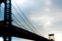 MANHATTAN BRIDGE, NEW YORK by Carine
