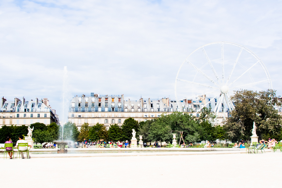 TUILERIES, PARIS by Carine