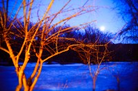 BLUE, CONNECTICUT by Carine