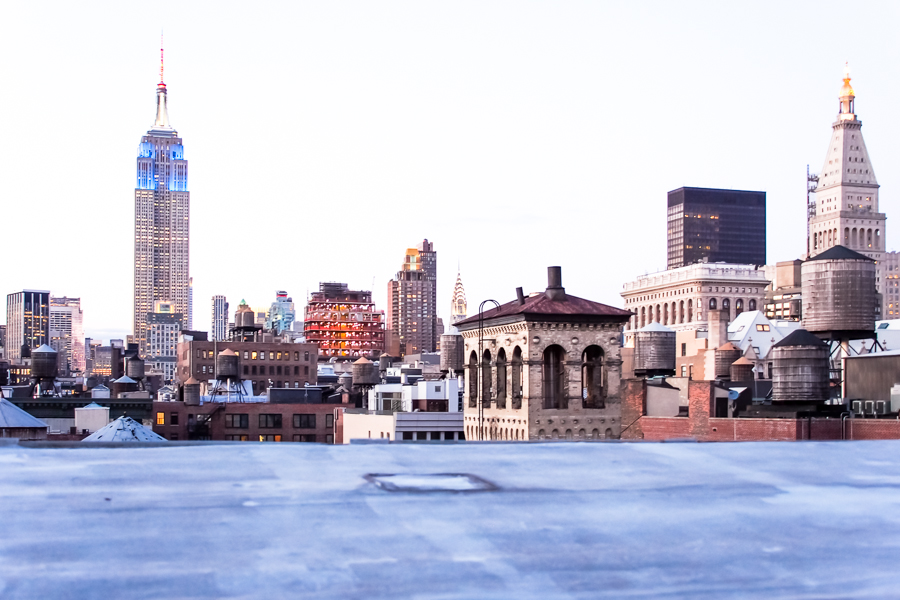 ROOFS, NYC by Carine