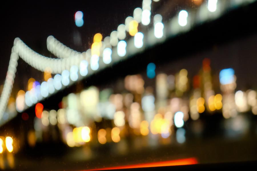MANHATTAN BRIDGE, NYC by Carine