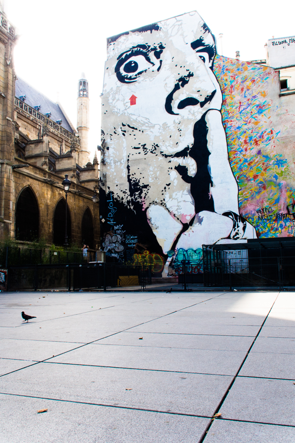 PLACE STRAVINSKY, PARIS by Carine